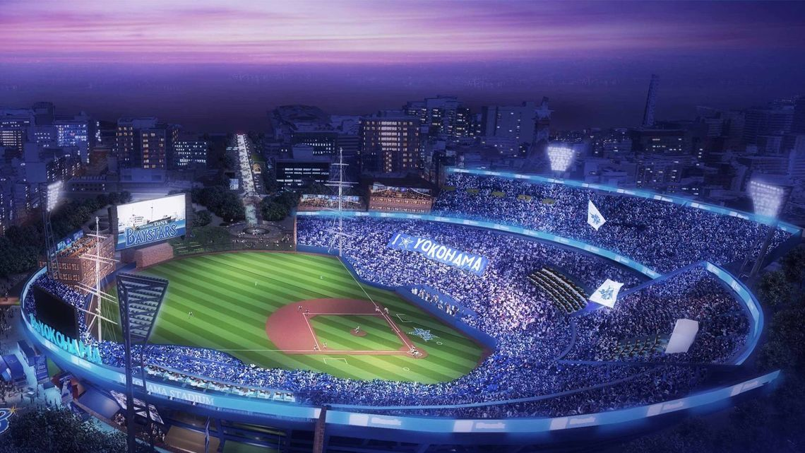 「横浜スタジアム オリンピック」の画像検索結果